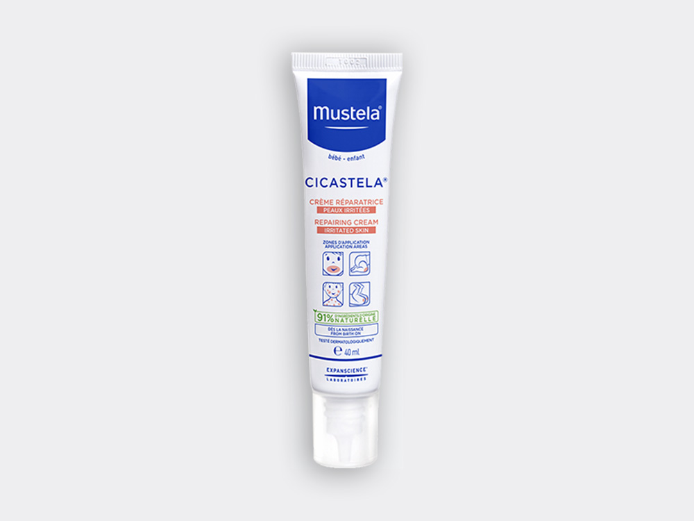 Mustela Cicastela reparing cream for babies