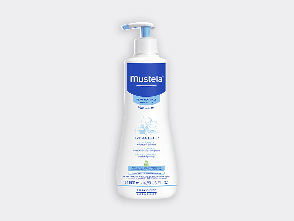 Mustela Hydra bébé body lotion for babies with normal skin
