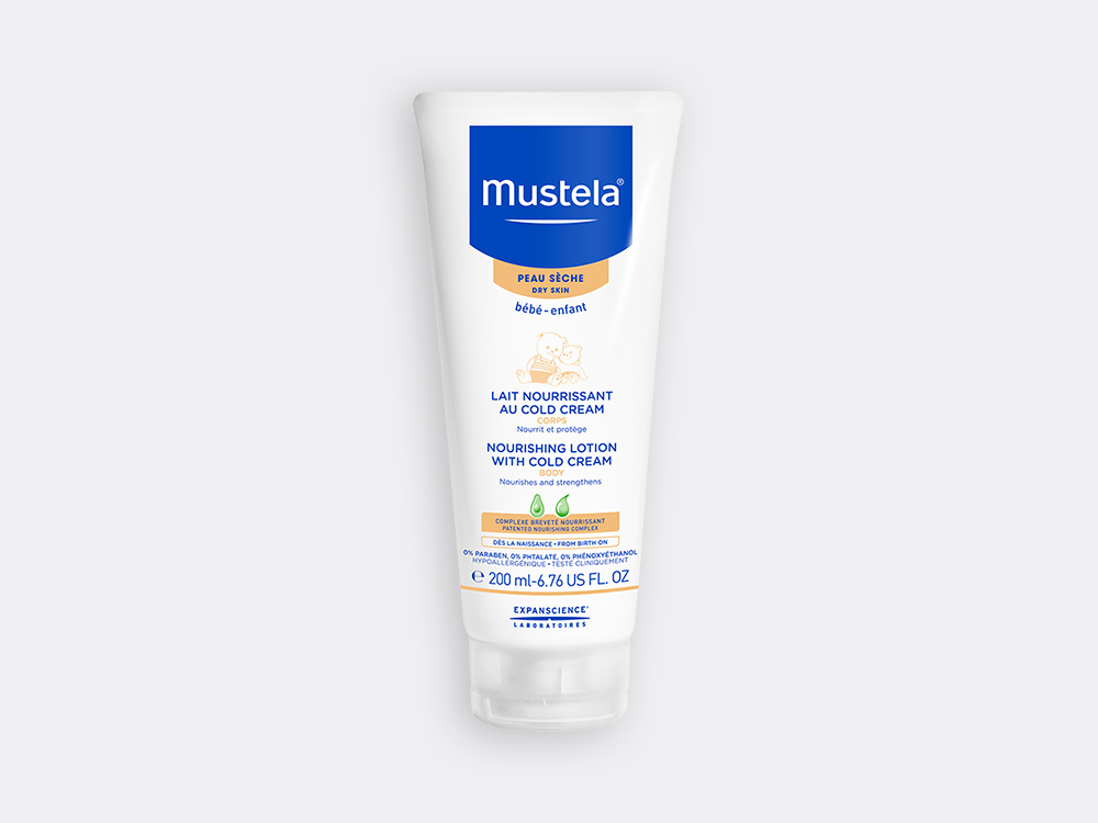 Mustela Nourishing lotion for babies with dry skin