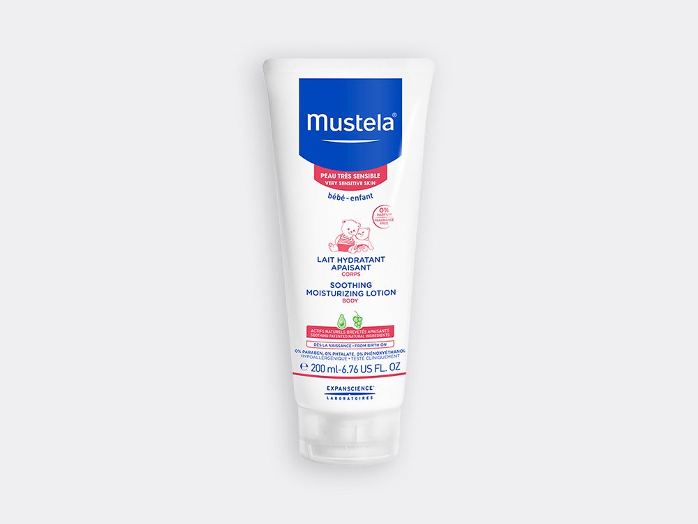 Mustela Soothing moisturizing lotion for babies with very sensitive skin