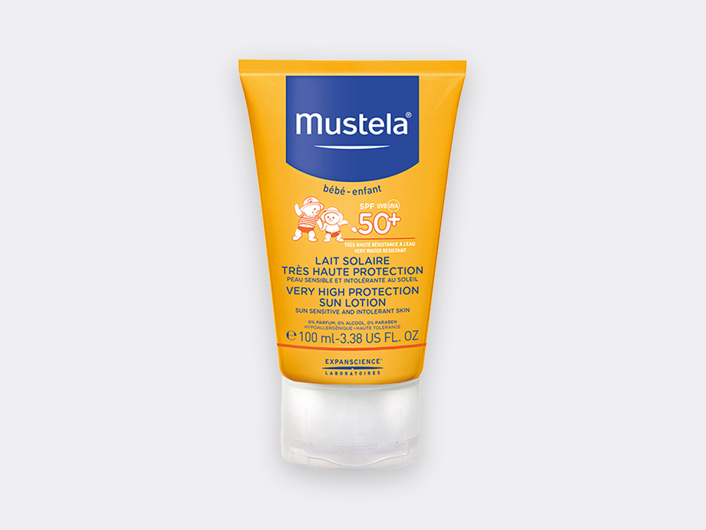 Mustela Very high protection sun lotion for babies 100ml