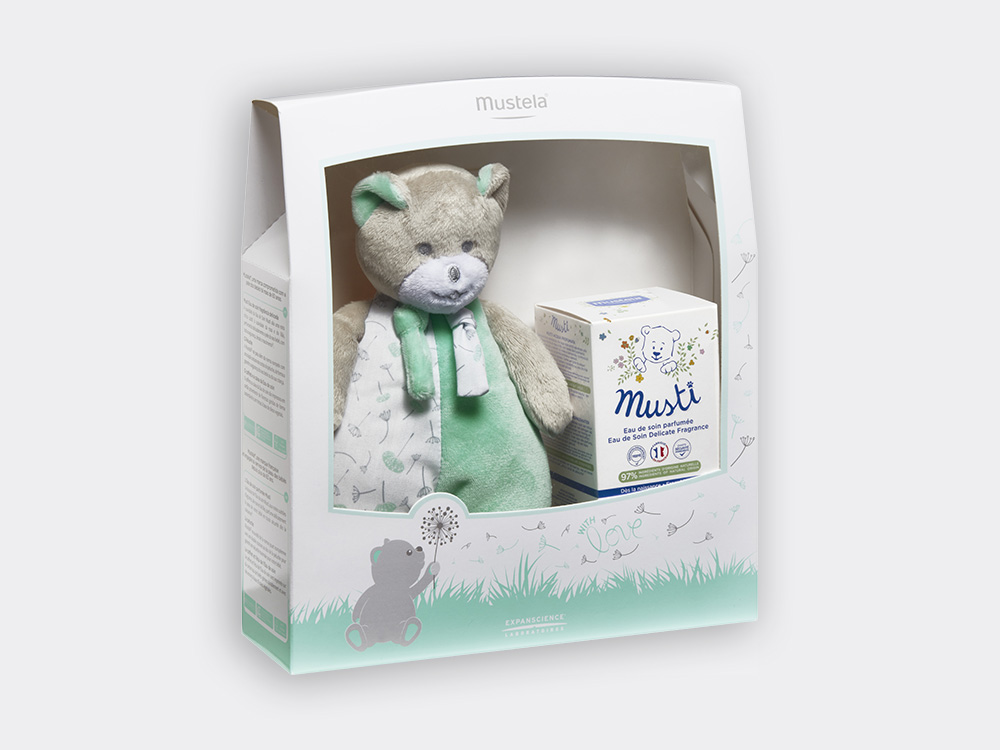 Musti coffret perfume baby & child