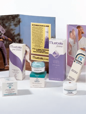 1979 - Launch of a Mustela product range for women