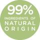 99% ingredient of natural origin