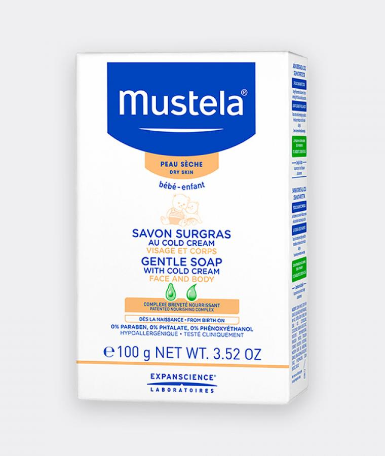 Mustela Gentle soap for babies with dry skin