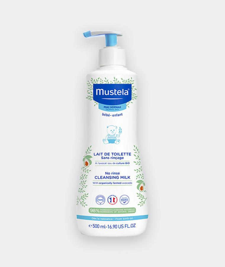 NO RINSE CLEANSING MILK WITH ORGANIC AVOCADO Mustela