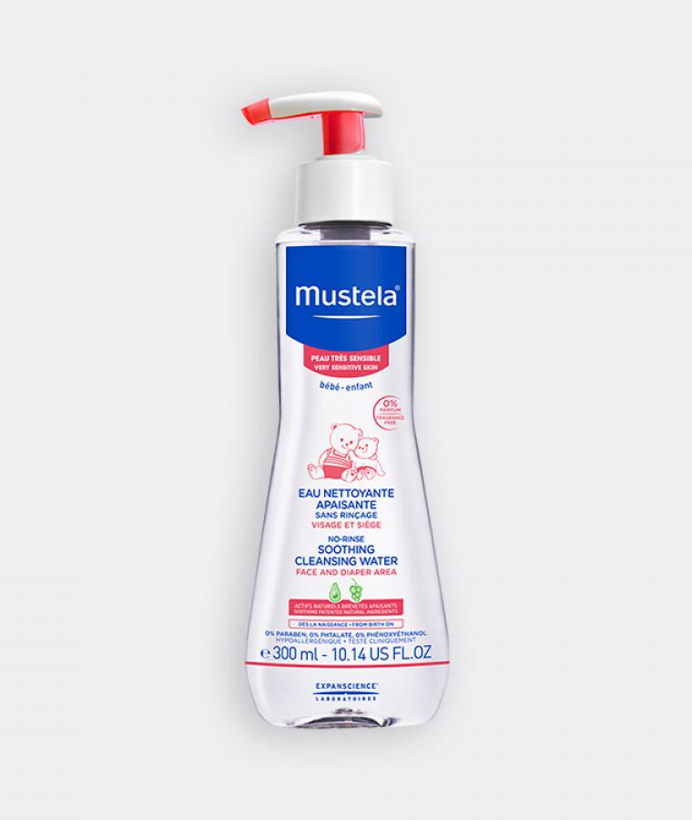 Mustela Soothing cleansing water for babies with very sensitive skin