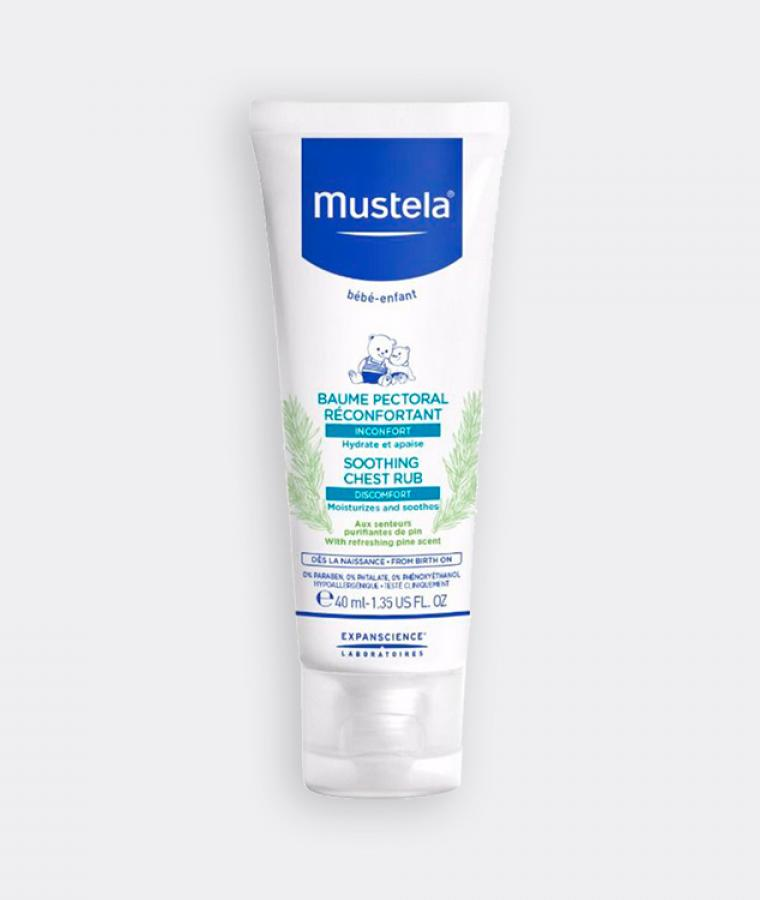 Mustela Soothing chest rub for babies