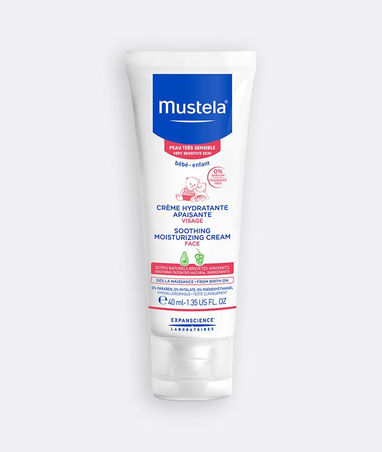 Mustela Soothing moisturizing cream for babies with very sensitive skin